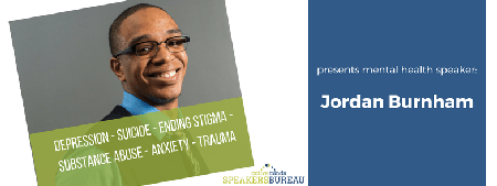 Jordan Burnham (Active Minds) speaks about mental...