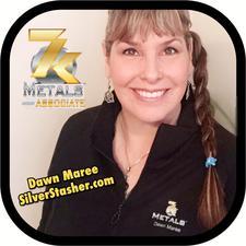 Dawn Maree and 7k Metals Leaders logo