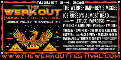 The Werk Out Music and Arts Festival 2018