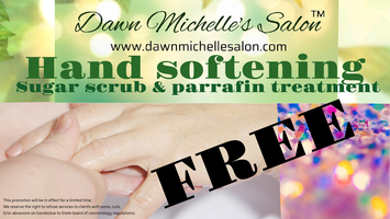 FREE Hand softening (Paraffin & sugar scrub) series Tickets, Sat