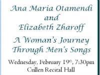 A Woman's Journey Through Men's Songs