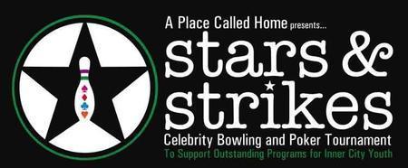 STARS & STRIKES Celebrity Bowling & Poker Tournament...