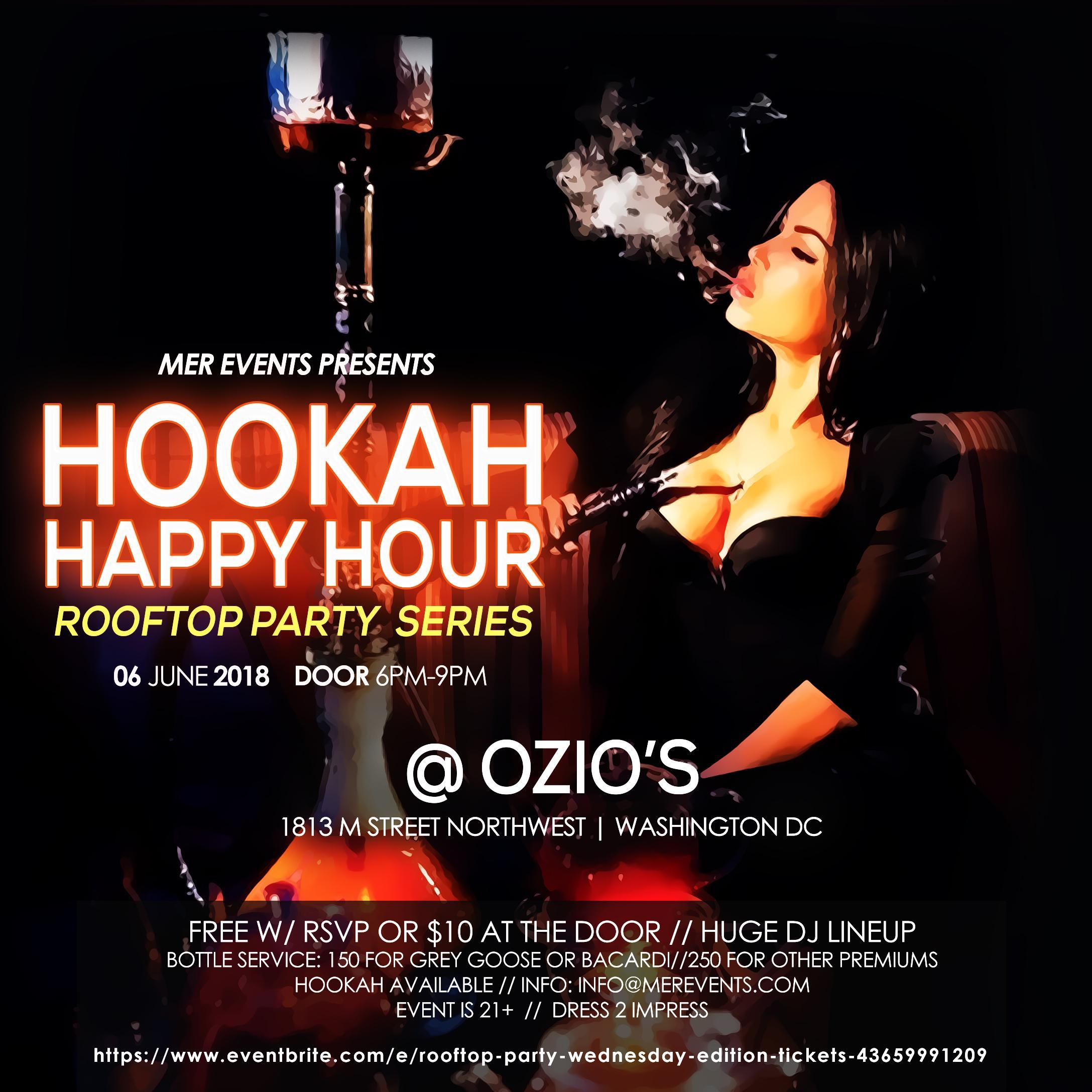 Hookah Happy Hour