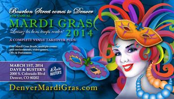 Mardi Gras Denver - 4th Annual