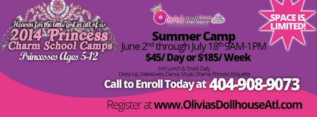 Atlanta Summer Camp: Princess Charm School