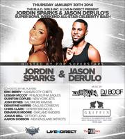 Superbowl Thursday at Griffin w Jason Derulo & Jordin...