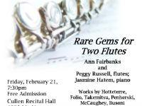 Rare Gems for Two Flutes