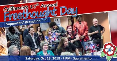 California Freethought Day 2018 - Supporters' Reception