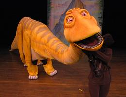 "PAS presents the Hudson Vagabond Puppets with ""Mammoth..."