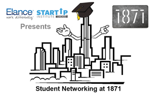 Student Networking at 1871