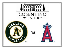 Cosentino Day to the Ballpark - Go A's!