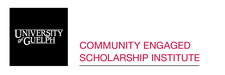 Community Engaged Scholarship Institute, University of Guelph logo