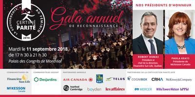 Gala de reconnaissance annuel de La Gouvernance au...