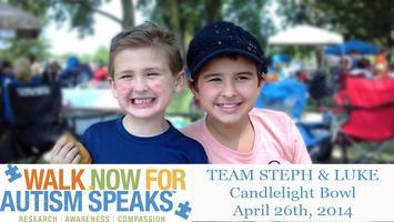 TEAM STEPH & LUKE Candlelight Bowl for Autism Speaks