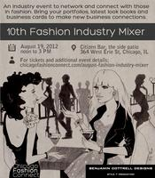 Aug 2012 Fashion Industry Mixer