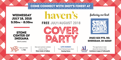 Haven's July 2018 Cover Party featuring the Stone...