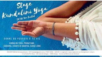 Stage de kundalini Yoga : DONNE DU POUVOIR À TA VIE