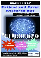 Brain Injury - Patient and Carer Research Day
