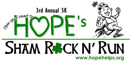 HOPE's Sham Rock n Run 5K