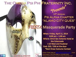 13th Annual Fiesta Masquerade Party 2014