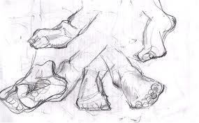 Narrative Figure Drawing - 1 Session - The Legs & Feet