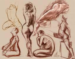 Narrative Figure Drawing - 1 Session - Back & Torso