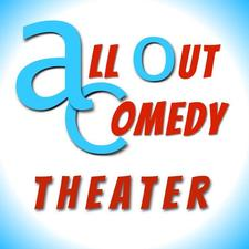 All Out Comedy Theater logo