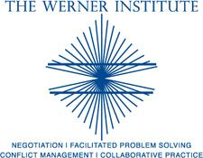 The Werner Institute at Creighton University's School of Law logo