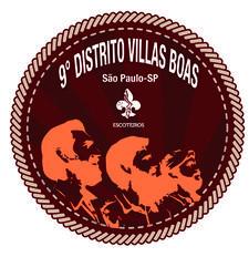9º Distrito Escoteiro - Villas Boas  -  Região Escoteira de São Paulo logo