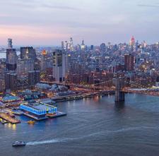 Seaport District NYC logo