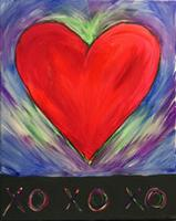 Hugs and Kisses - Color Me Mine - 2-9-14