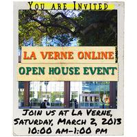 La Verne Online Open House: Spring 2013
