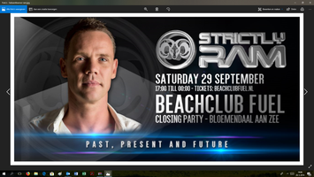 Strictly Ram, official closing party Beachclub Fuel