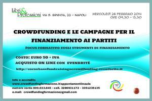 Crowdfunding e le campagne per il finanziamento ai...
