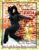 Open Mic Variety Show