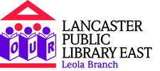 Lancaster Public Library East-Leola Branch logo