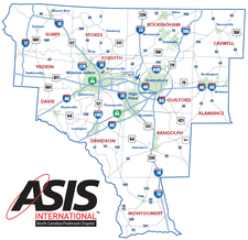 ASIS NC Piedmont Chapter logo