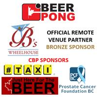 CBP BEER PONG TOURNAMENT @ WHEELHOUSE PUB, SURREY