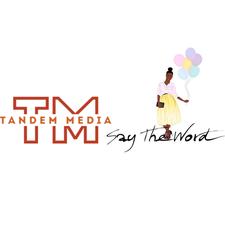 Tandem Media & Say The Word Events logo