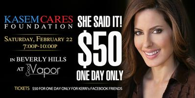 Celebration Party With Kerri Kasem - Tickets...