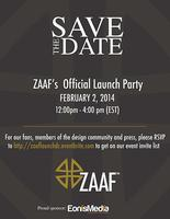ZAAF's Official Launch Party
