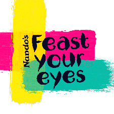 Feast your Eyes - Nando's pop-up Gallery logo