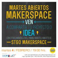 Martes abiertos en Stgo MakerSpace
