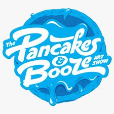 The Pancakes & Booze Art Show logo