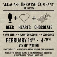 Beer Hearts Chocolate Event