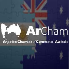 (ArCham) Argentine Chamber of Commerce in Australia logo