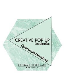 CREATIVE POP UP SANTANDER logo