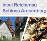 Insel Reichenau/Schloss Arenenberg