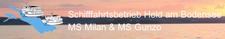Schifffahrtsbetrieb Held logo