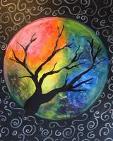 Canvas Painting Class - Mystic Moon